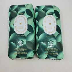 Starbucks 2 Pounds Christmas Blend Decaf Whole Coffee Beans Exp April 2021