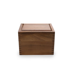 Recipe Box 6 In. X 4 In. Acacia Wood Construction - Best Seller