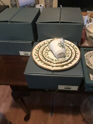 Lenox Holiday Collection Place Settings New In Box Plus Accessory=41pcs