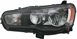 Tyc 20-9258-00-9 Compatible With Mitsubishi Lancer Left Replacement Head Lamp