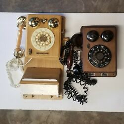For Resell Crosley And Unbranded Vintage Push Button Wall Phones As Is