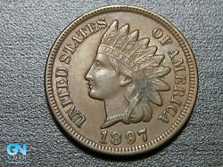 1897 Indian Head Cent Penny -- Make Us An Offer K7246