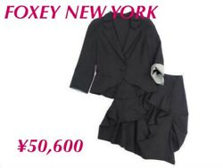 Foxey New York Skirt M Size Fashion Goods Vintage From Japanese K9872