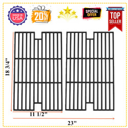 Cast Iron Cooking Grid Grates 2-pack 18 3/4 For Members Mark Kenmore Hot Sale