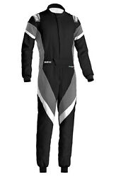 Sparco 001135h52ngbo Suit Victory Black /gray Medium
