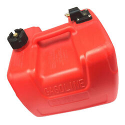 Portable 3.2 Gallon Marine Boat Outboard Fuel Tank With Connector For Yamaha