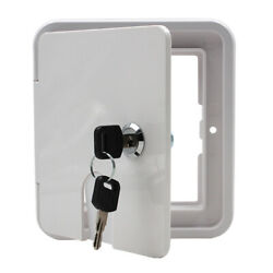 Rv Trailer Electrical Cable Hatch Lock With Key, Boat Electric Power Cord
