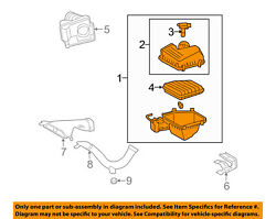 Toyota Oem 05-12 Avalon Air Cleaner Intake-filter Box Housing 17700ad016