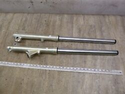 1982 Yamaha Xj650 Maxim Y364-3 Left And Right Front Forks Suspensions Set