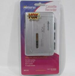 Memorex Vox Personal Cassette Recorder Mb1055 With Adapter Sealed