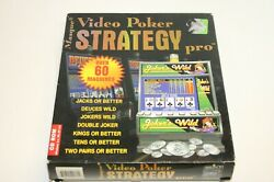Masque Video Poker Strategy Pro, Over 60 Machines, Pc Computer Game Software