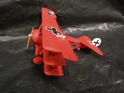 Hallmark Legends In Flight Fokker Dr.i Red Baron Miniature Airplane With Box