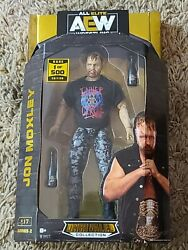 Jazwares AEW Unrivaled #17 RARE Jon Moxley 1 500 CHASE Series 2 Figure IN HAND