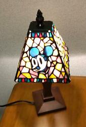 Disney Stained Glass Lamp From Japan No.1588