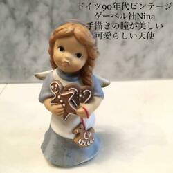 Germany 90 Vintage Goebel's Gna Cute Angel With Beautiful Hand-drawn No.3258