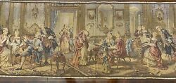 Tapestry Made in Belgium Music Parlor scene approx 20quot; x 60quot;