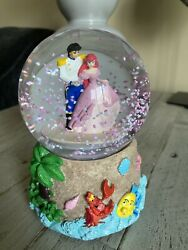 Rare 1988 The Little Mermaid Musical Part Of Your World Waterglobe Snow Globe