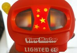 View-master Viewer, Model N, Lighted 1992 Working Tyco +winnie The Pooh 3-reels