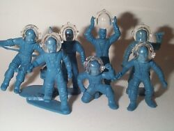 Marx 1950s Tom Corbett 10 Space Helmets Crystal Clear Real Hard Plastic Only