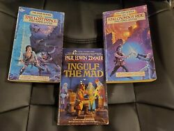 Lot of 3 Dark Border books by Paul Edwin Zimmer Vol 1 and 2 and Ingulf the Mad