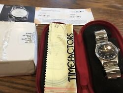 New Smiths Everest Black Dial Prs-25 Automatic Watch Timefactors 36mm Usa Seller