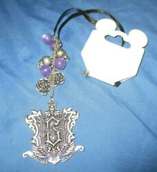 Haunted Mansion Master Gracey Necklace W/skulls Disney Theme Parks Exclusive