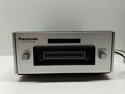 Vintage Panasonic Rs-801us Stereo 8 Track Compact Tape Deck