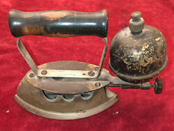 Early Coleman Lamp Stove Co. Gas Sad Iron Kitchen Tool Instant Lighting