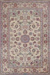 Vintage Floral Ardakan Hand-knotted Area Rug Dining Room Oriental 8'x11' Carpet