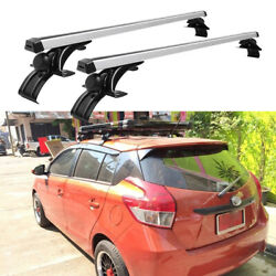 For Toyota Yaris 48 Car Roof Rack Cross Bar Luggage Bicycle Carrier Aluminum