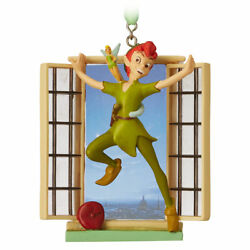 Disney Store Peter Pan Tinker Bell Holiday Christmas Ornament Legacy Sketchbook