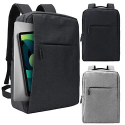 18 Inch Laptop Backpack USB Charging Anti theft Rucksack Notebook School Travel $17.99