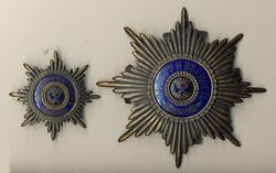 Antique Original Imperial Russian Two Officer Cockades For Shako And Cap 1960