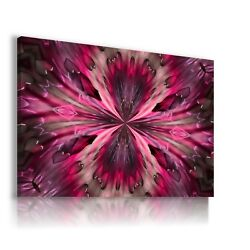 Abstract Flower Kaleidoscope Canvas Wall Art Picture Ab840 Mataga