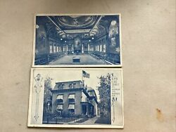 Elks Lodge And Temple Buffalo Ny Postcards Circa 1915 Unposted Vg Condition