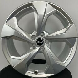 Set Of Four 2021 Audi 20 Inch Rims Pretty Much New Only 500 Miles W/ Lugs