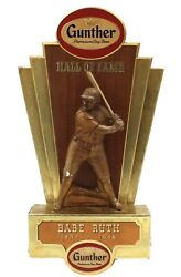 """Babe Ruth 1956 Gunther Beer Hall Of Fame Statue 15"""" Limited Edition 1 Very Rare"""