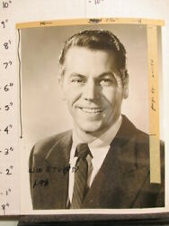 Abc Tv Show Photo 1950s Oss O.s.s Ron Randall Wwii Cia Smiling Tape