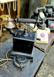 Antique Ericsson 1895 Stocholm Lm Sweden Switch Telephone Vintage Working