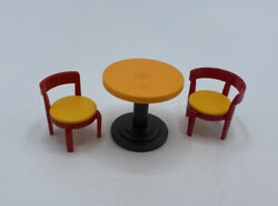 Playmobil Bistro Table 2 Chairs Campground Zoo Park House Safari