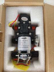 Bayite 12v Dc Fresh Water Pressure Diaphragm Pump With Hose Clamps Self Priming