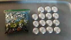 1015 Monster Energy Can Tabs And 16 Caps For Monster Gear Assorted Colors New