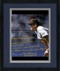 Frmd Steve Garvey Sd Padres Stands Ready 16x20 Story Photo And 1984 Nlcs Mvp Insc