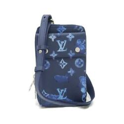 Louis Vuitton Water Color Monogram Phone Pouch M80466 Previously Owned No.2595