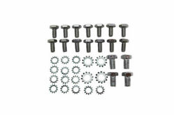 Chrome Oil Pan Bolt And Washer Kit Fits Chevy Small Block 283 327 350 400 V8 Hot