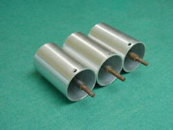 Parts Of 3 Used Spring Housing Legs For 1970and039s Transcriptors Skeleton Turntable