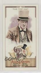 2012 Topps Allen And Ginterand039s Guys In Hats Minis The Top Hat Gh-6