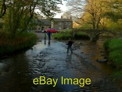Photo 6x4 Ford At Wycoller This Ford And Ancient Packhorse Bridge Is Foun C2011
