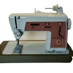 Vintage Singer Touch And Sew Sewing Machine Special Zig Zag Model 626 Works