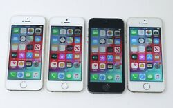 Lot Of 4 Various Working Apple Iphone 5s A1533 A1453 16gb-32gb Smartphones